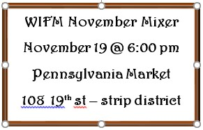 Holiday Mixer - November 19 @ Pennsylvania Market