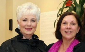 2009 Opal Award Recipient, Shirley Jones & Faith Dickinson